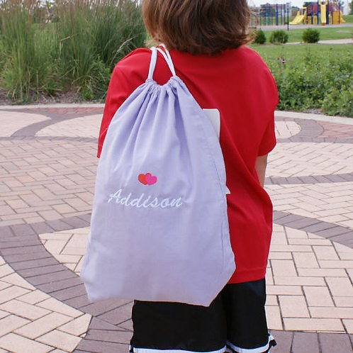 Embroidered Icon Sports Bag