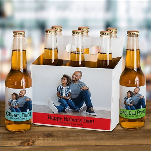 Personalized Photo Labels and Carrier Set
