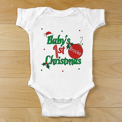 Ornament First Christmas Baby