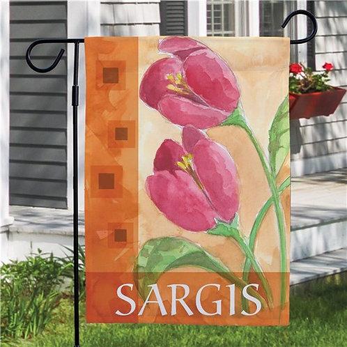 Spring Flower Garden Flag