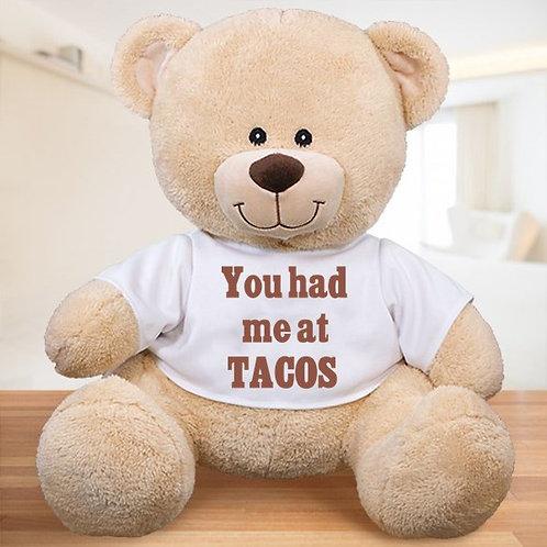 ANY Custom Message Teddy Bear