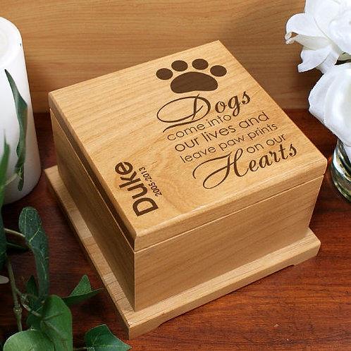 Engraved Pet Memorial Urn