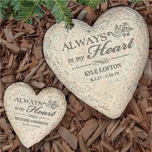 Sympathy Heart Stone