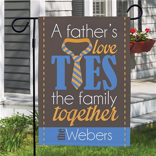 Father's Day Personalized Garden Flag