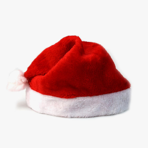 Plush Christmas Santa Hats Bundle - Set of 5