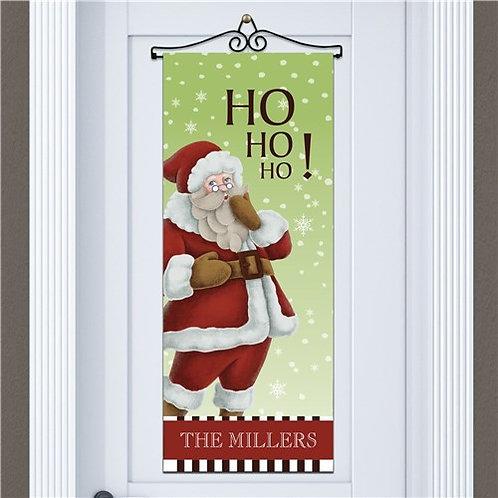 Personalized Vintage Santa Wall Hanging