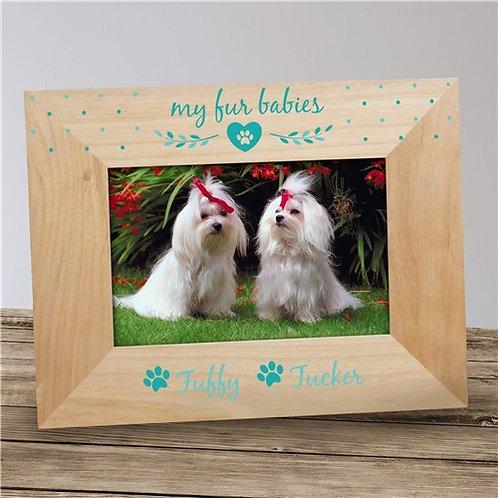 Personalized Fur Babies Pet Frame