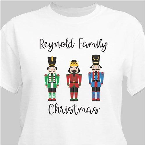 Personalized Christmas Nutcrackers T-Shirt