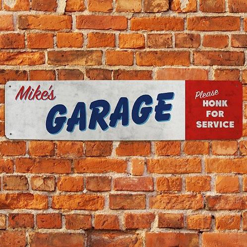 Garage Sign