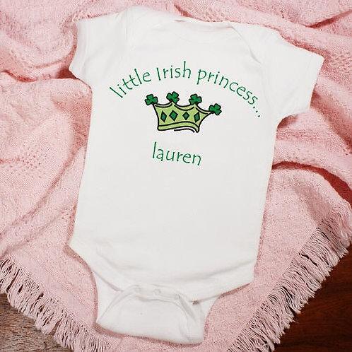 Little Irish Princess Infant Creeper