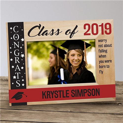 Personalized Congrats Class Of... Wooden Picture Frame