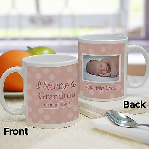 Personalized Baby Photo Mug