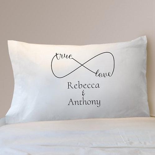 True Love Infinity Pillowcase