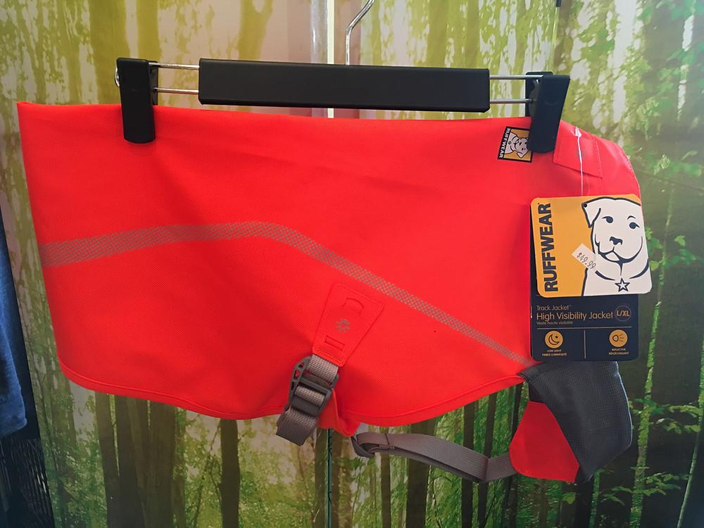Ruffwear Orange Vests for Hunting Season