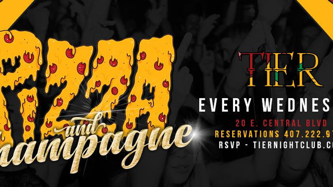 Pizza & Champagne: Road to Wynwood