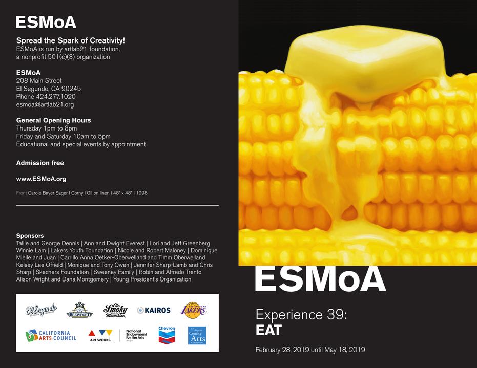 ESMoA EXPERIENCE 39 EAT Invite