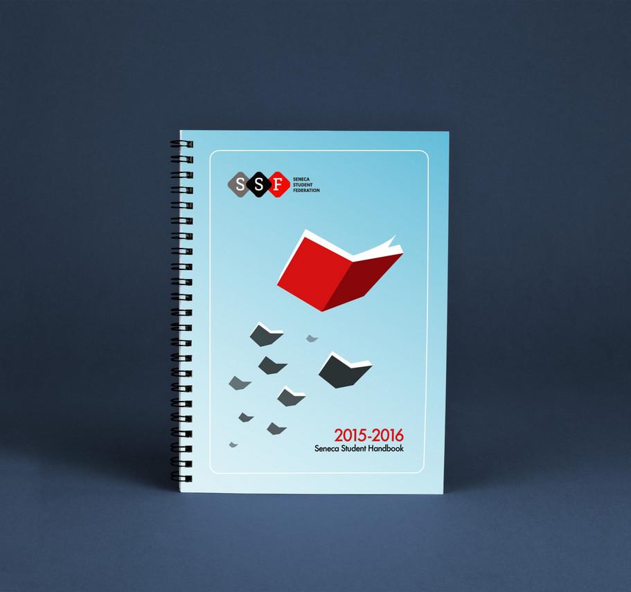 Student Handbook Cover Design