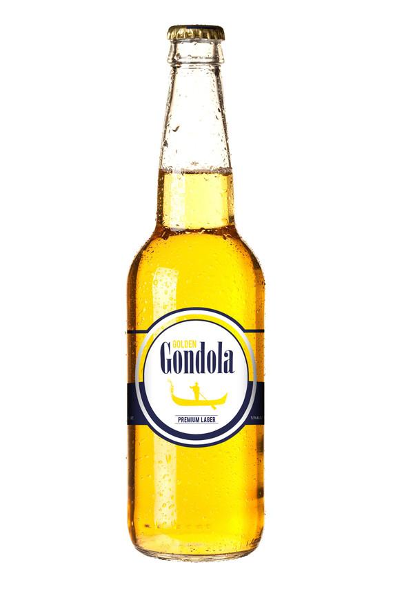 Golden Gondola - Bottle Design