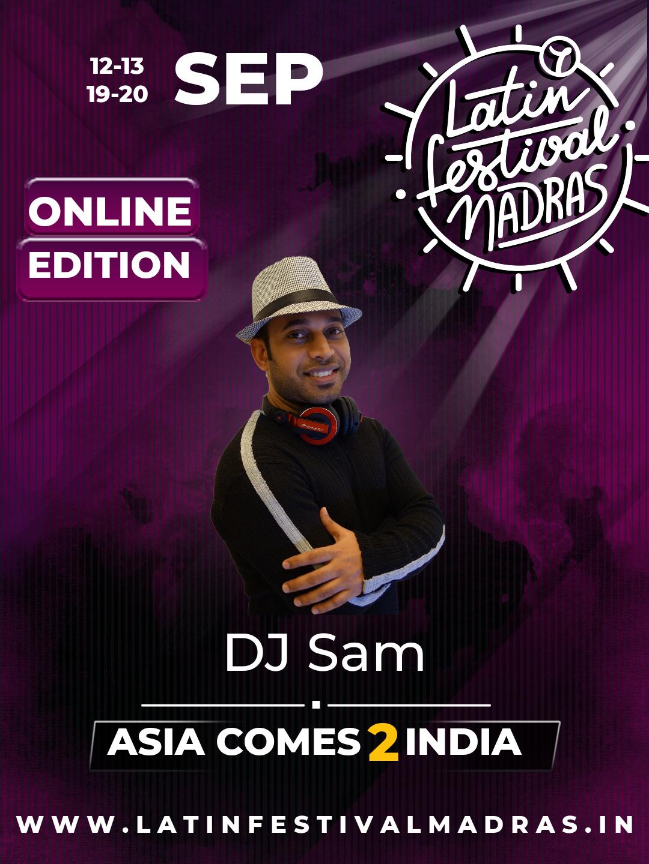 DJ Sam (India/Singapore)