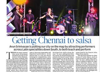 Getting Chennai to Salsa