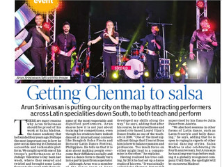Getting Chennai to Salsa
