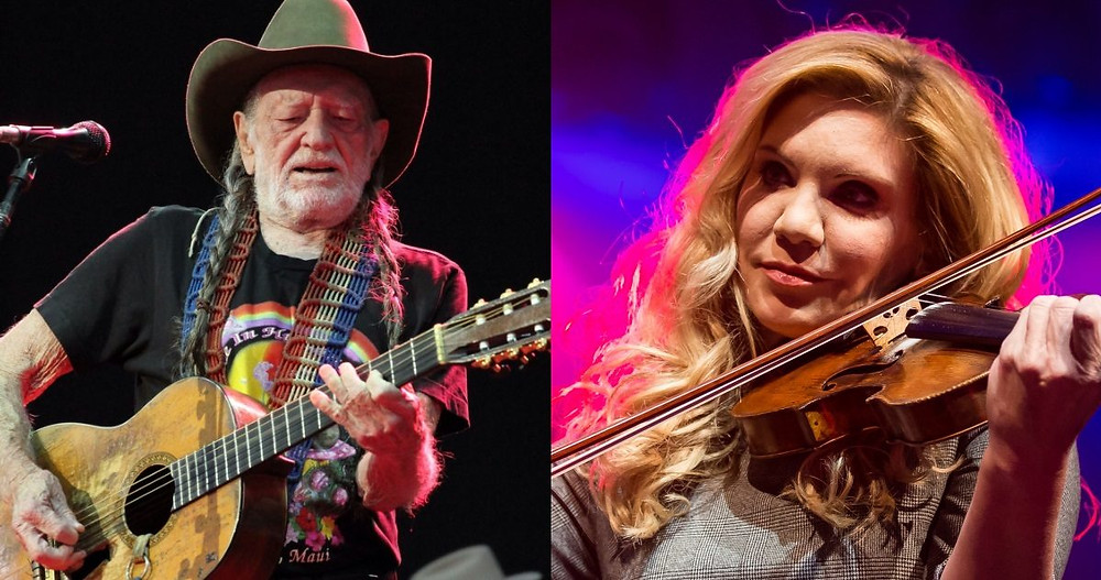Willie Nelson and Alison Krauss