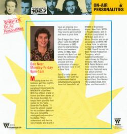 Radio marketing WNEW-FM 001