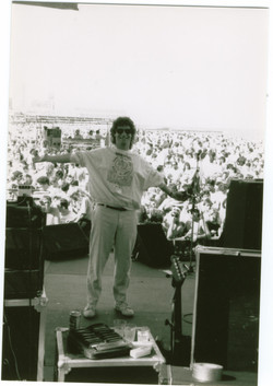 Dano onstage at Asbury Park