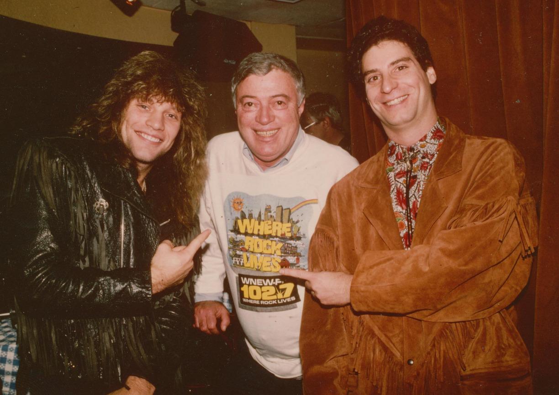 Bon Jovi & Scott Muni