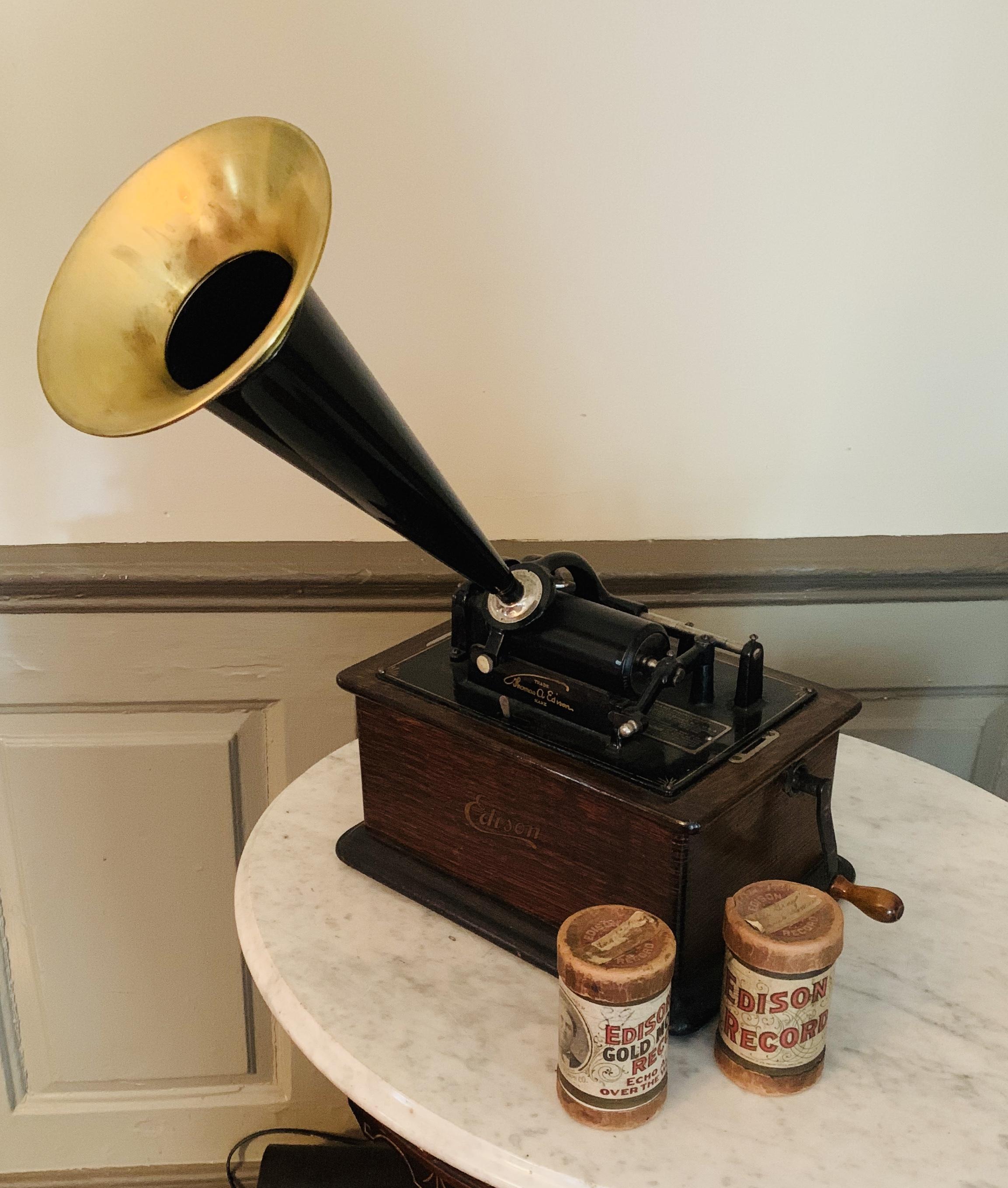 1900 Edison Phonograph