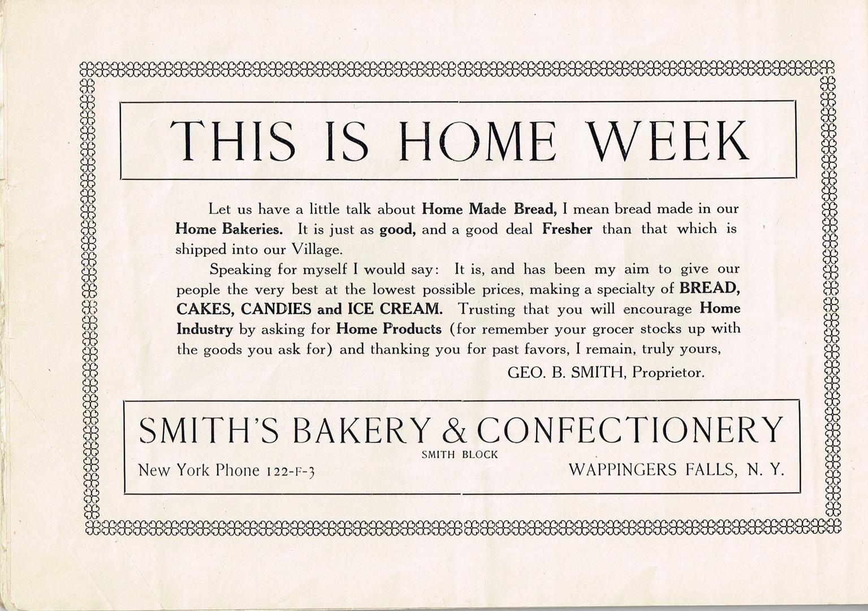 e - Old Home Week Souvenir Pamphlet - Au