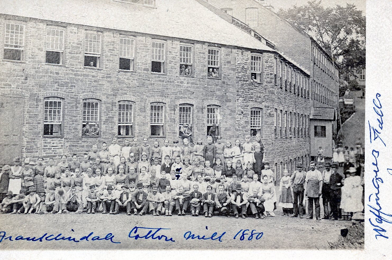 Franklindale Cotton Mill 1880
