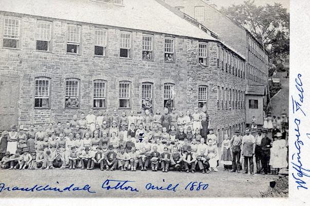 Franklindale Cotton Mill 1880