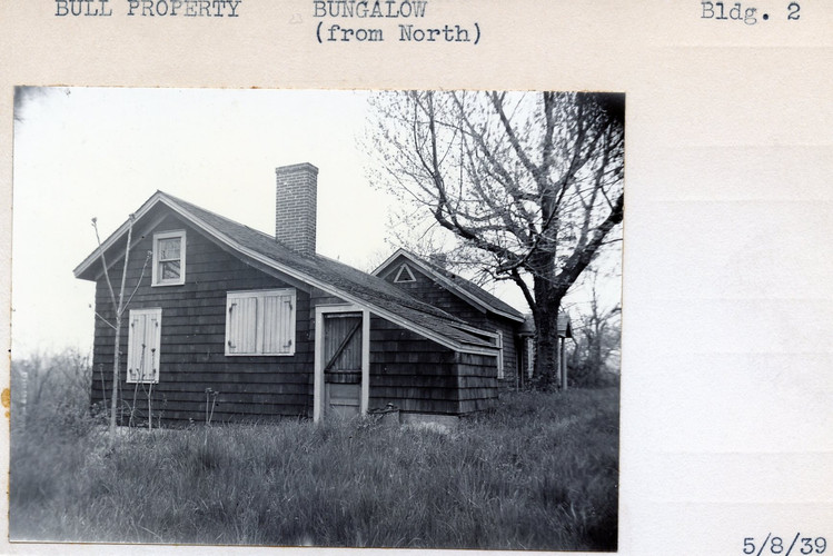 Bull PRoperty, Bungalow (from North) Building #2, 5/8/39