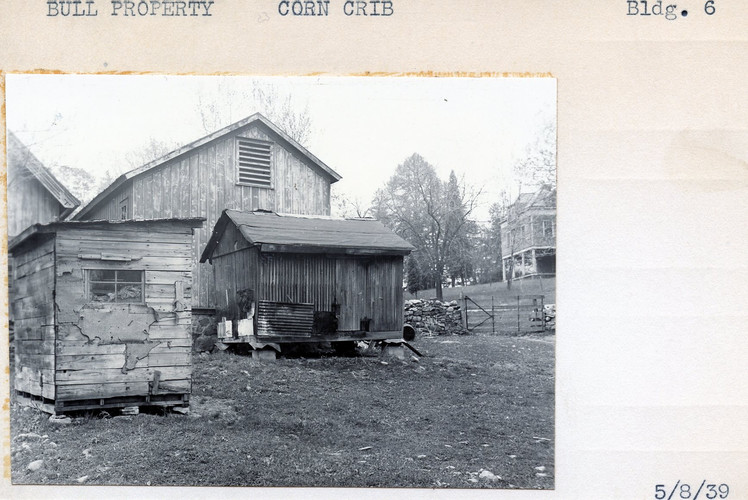 Bull Property, Corn Crib, Building #6, 5/8/39