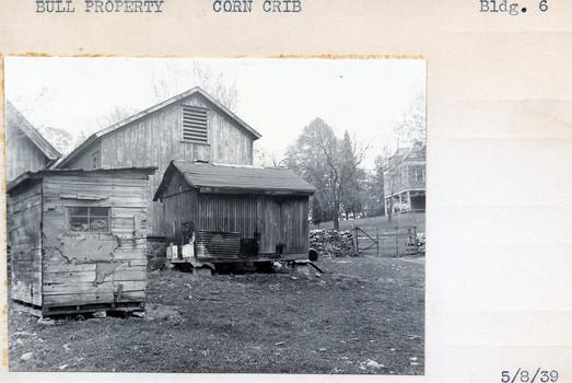 Bull Property, Corn Crib, Building #6, 5/8/39
