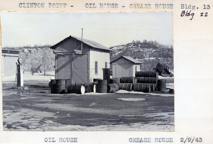 Oil House - Grease House, Building 13, 22, 2/9/43