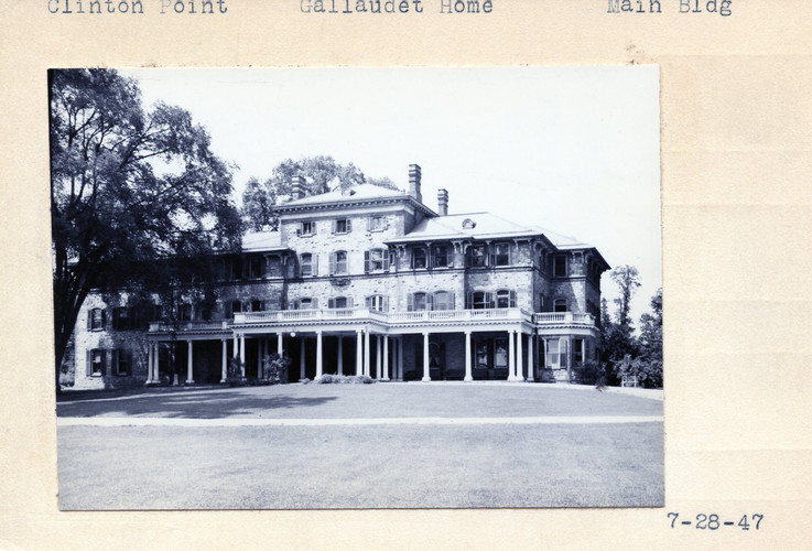 Gallaudet Home  Main Building 07/28/1947