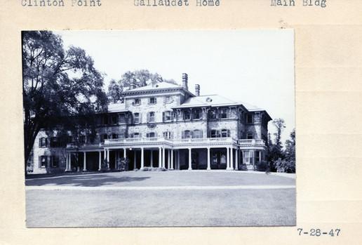 Gallaudet Home  Main Building 07/28/1947