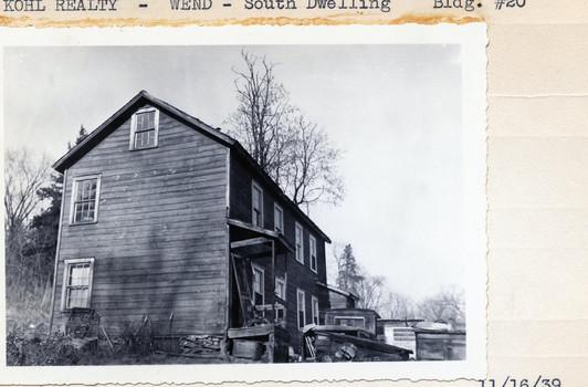 Kohl Realty - Wend - South Dwelling Bldg #20, 11/16/39