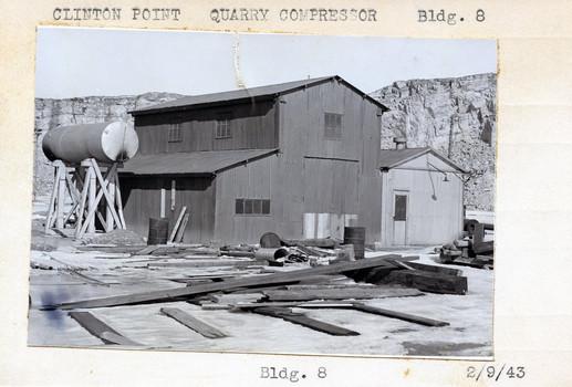 Quarry Compressor, Building #8 2/9/43