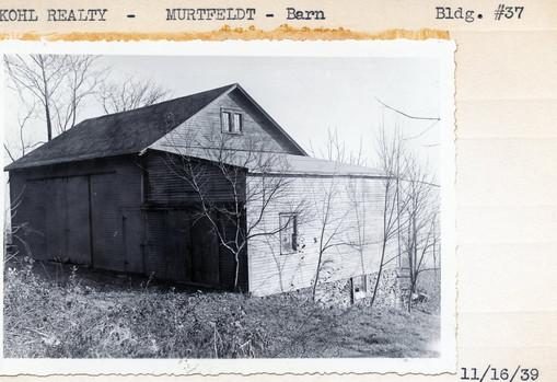 Kohl Realty, Murtfeldt - Barn, Bldg $37, 11/16/39