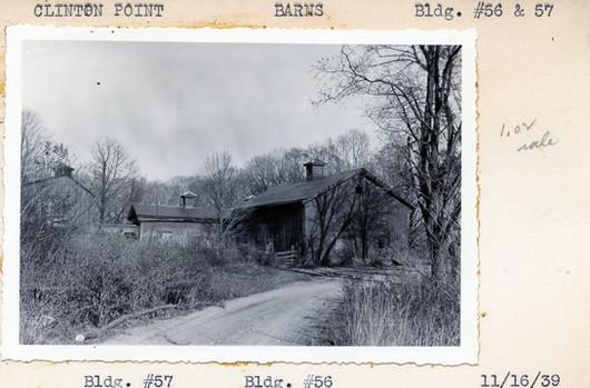 Barns Bldgs. #56 & 57  11/16/1939