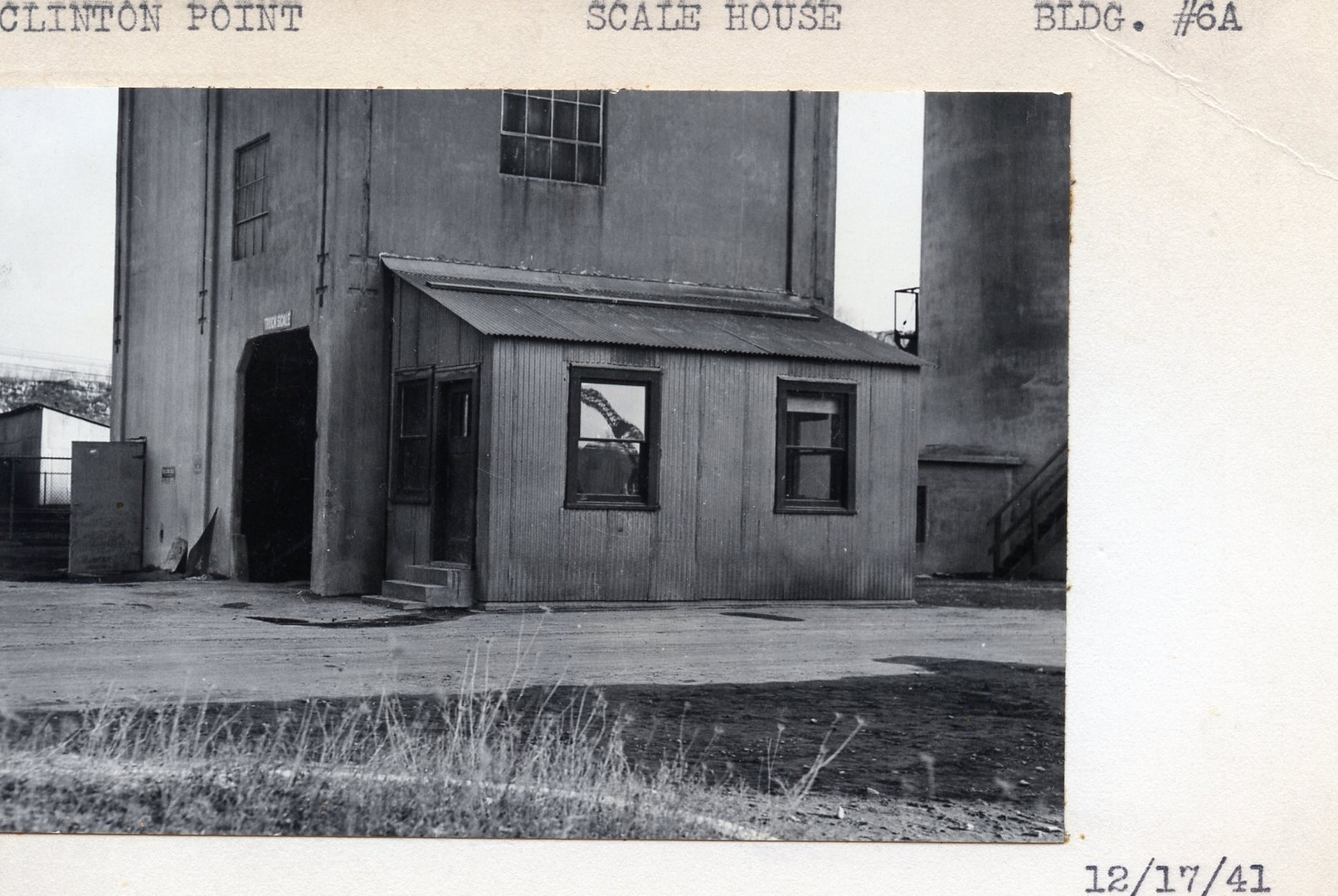 Scale House, Building #6A 12/17/41
