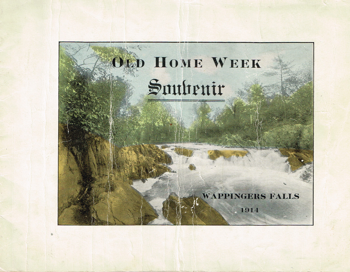 a -Old Home Week Souvenir Pamphlet - Aug