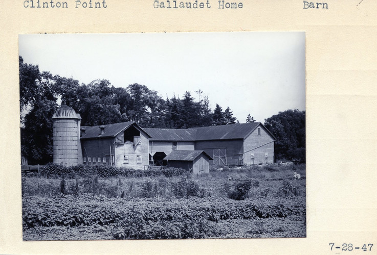 Gallaudet Home Barn 07/28/1947