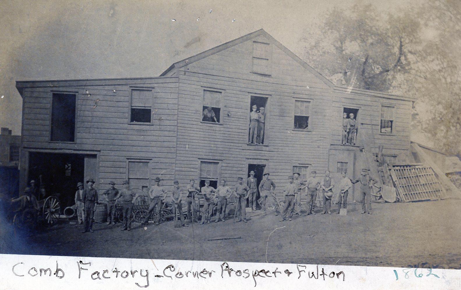 Comb Factory - Corner Prospect & Fulton