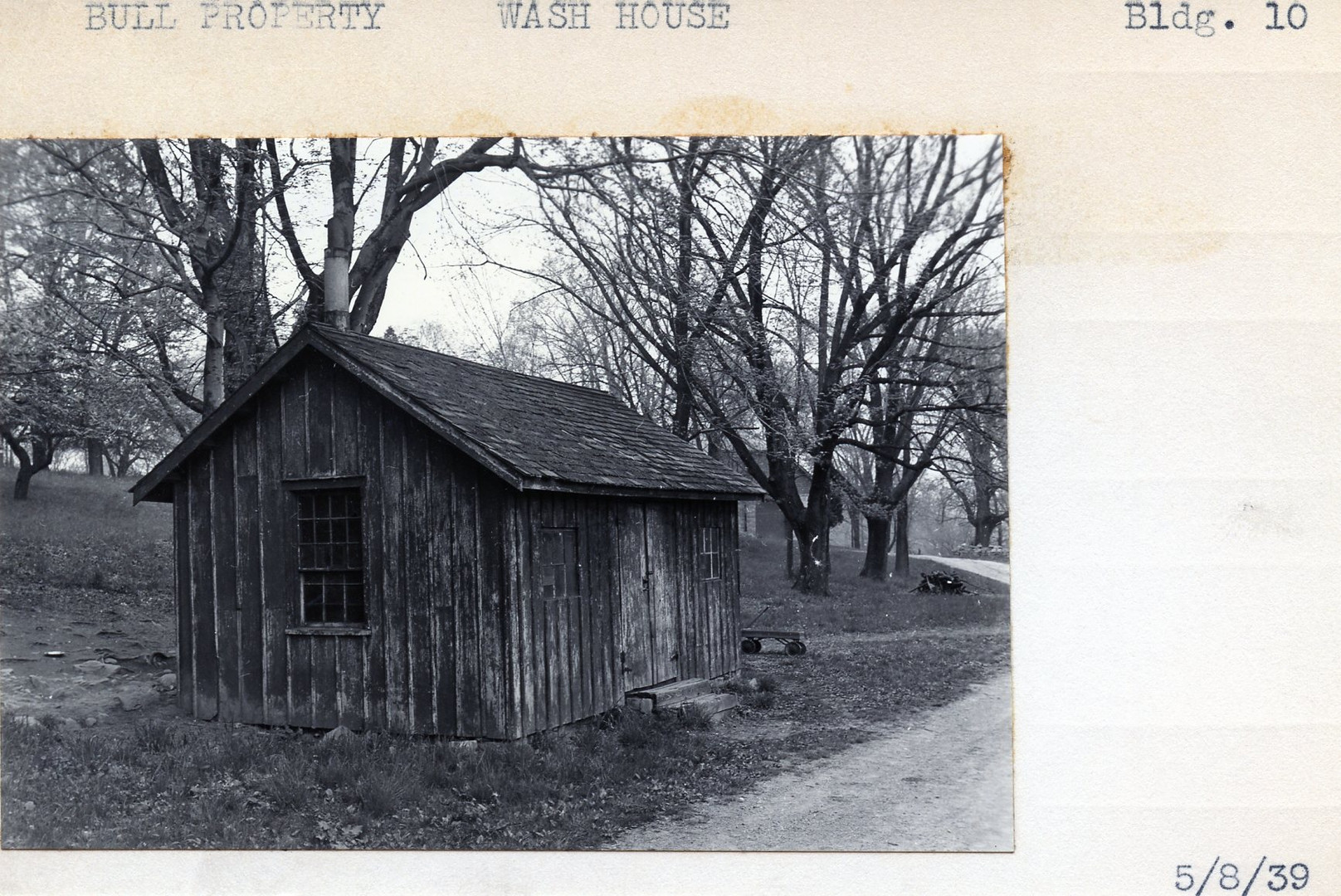 Bull Property, Bungalow (form North), Building #2, 5/8/39