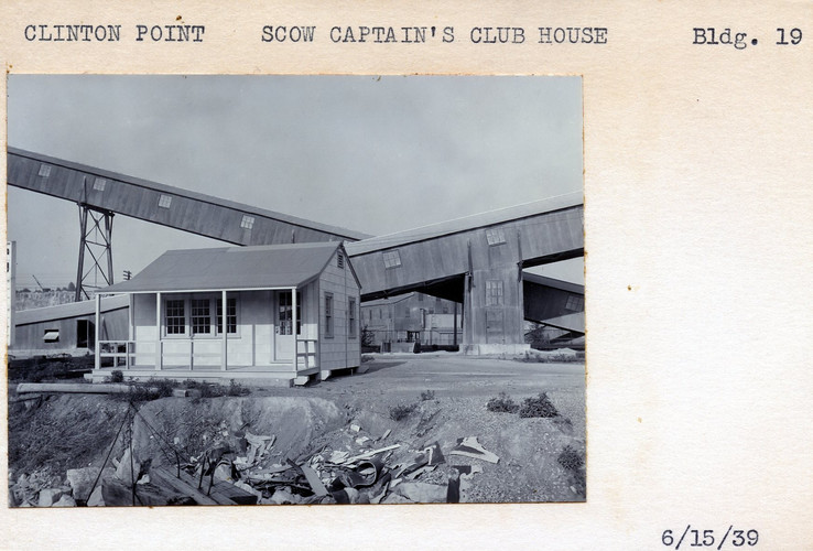 Scow Captain's Club House, Building #19, 6/15/39