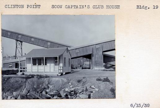 Scow Captain's Club House, Building #19, 6/15/39